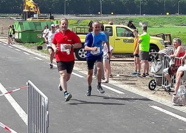 Finish 8 km