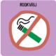 roken verboden op Reflex terrein