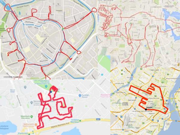 Funny Strava route